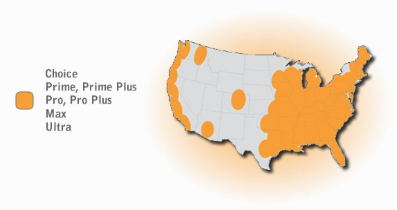 HughesNet Coverage Map | EchoStar Satellite